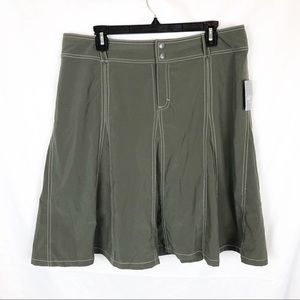 Athleta Whatever Skort Size 14 Army Green NWT